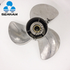 13 1/2 X 15 50HP-140HP Stainless Steel Outboard Propeller 6E5-45947-00-EL For Yamaha Honda Engines